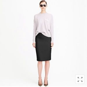 J. Crew, No. 2 pencil skirt in double serge wool